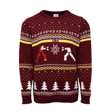 Ken Sweater fighter ken vs ryu jumper free delivery