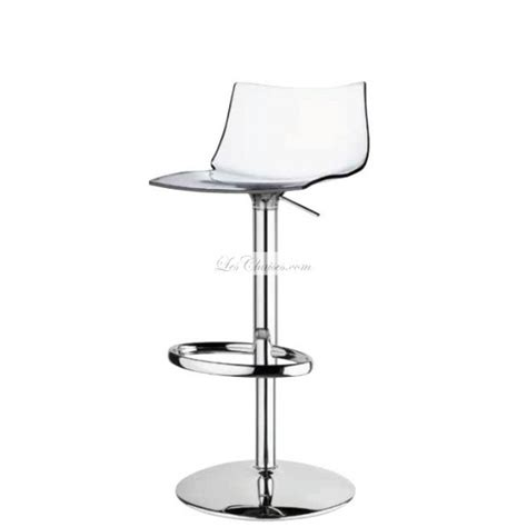 Tabourets De Bar Transparents by Tabouret R 233 Glable Transparent Et Tabourets R 233 Glable Design