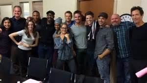 Arrow and the flash cast wallpaper and background images in the the