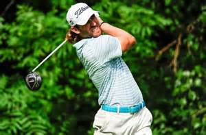 andrew loupe golf swing pga tour andrew loupe leads at rain delayed john deere