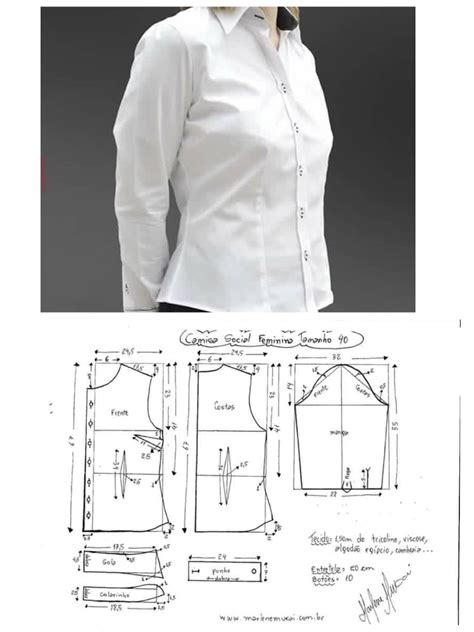 Shirt Kemeja Wanita kemeja wanita shirt pattern 패턴 외