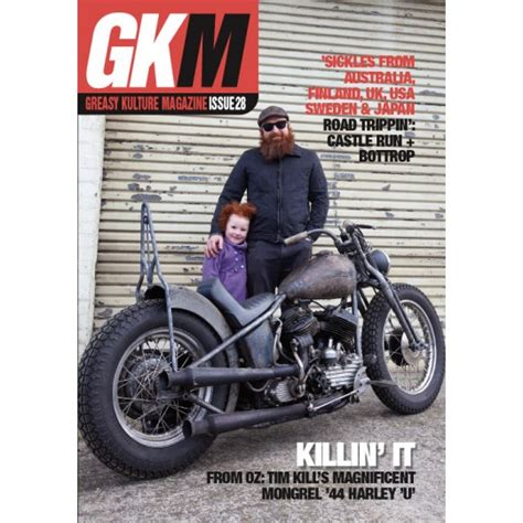 Cover Gkm 5 gkm issue 28 greasy kulture