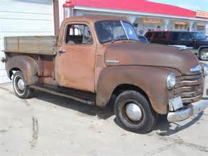 sell used 1951 chevy truck patina rat rod farm barn