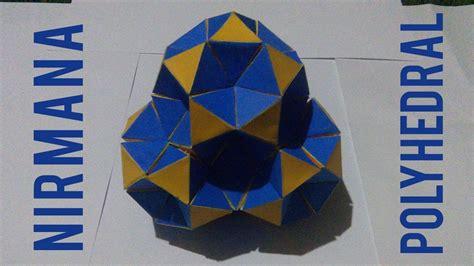 nirmana desain komunikasi visual cara membuat nirmana trimatra struktur polyhedral