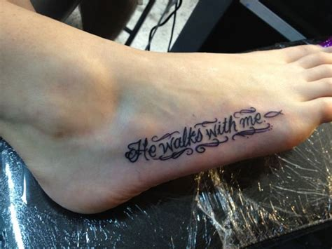55 beautiful foot tattoo designs for girls