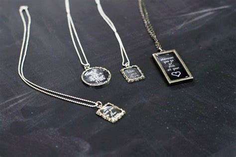 diy chalkboard necklace uses for chalkboard paint diy projects craft ideas how