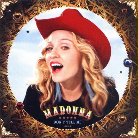 album 2000 madonna madonna don 180 t tell me 2000 madonna singles