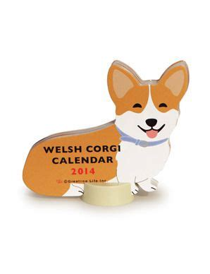 welsh corgi desk calendar 2014 desk calendar welsh corgi new arrivals pinterest