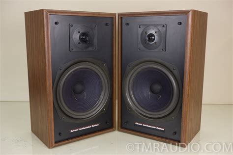 advent 4002 2 way bookshelf speakers new foam surrounds