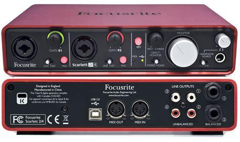 Focusrite Scarlet Plugins Suite 1 7 pro audio supplies focusrite 2i4