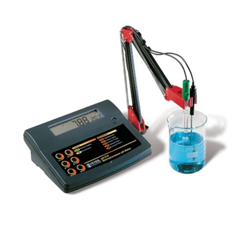bench com ph ph210 ph bench meter for quality control applications