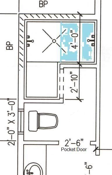 Walk In Shower Dimensions by Floor Plan Exle Of A Doorless Shower For The Home