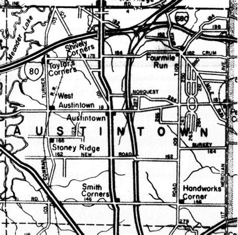 Mahoning County Records Search Mahoning County Ohgenweb Project Mahoning County Township Map
