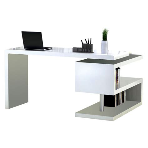 Modern Desk White Modern Desks Atkinson Desk Bookcase Eurway Modern