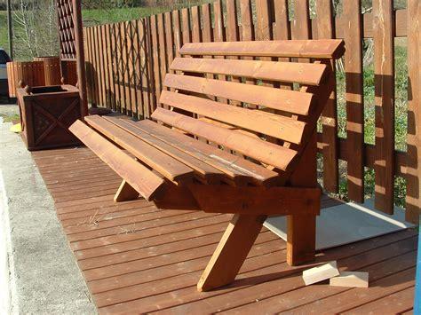 panchina esterno panchine per l esterno panchina in legno mod elice