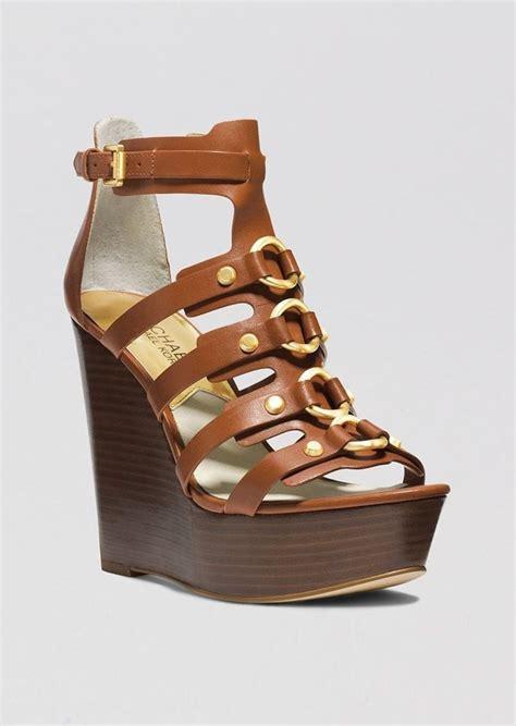 Mk B698 7 Wedges Shoes mk wedge sandals 28 images michael kors michael