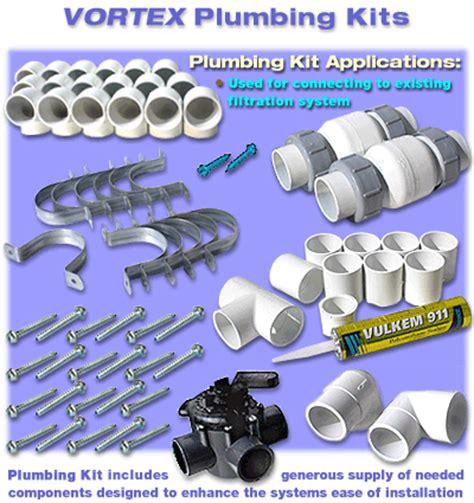 Swimming Pool Plumbing Parts by Vortex Plumbing Kit