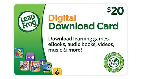 Leapfrog Gift Card - tech leap into gaming with leaptv
