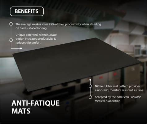 Mat Benefits by Industrial Anti Fatigue Floor Mats Canada Canadian Linen