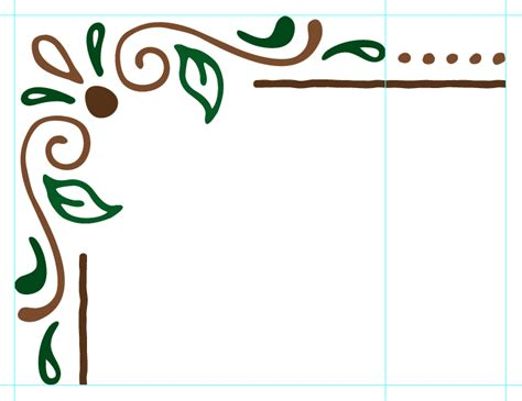 simple pattern border design create a pattern brush in illustrator creative market blog