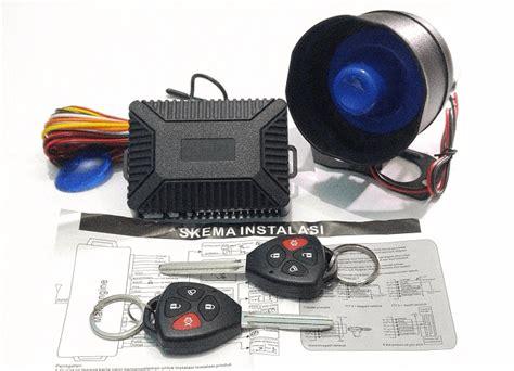Alarm Mobil Kunci jual alarm mobil yang bagus remote menyatu dengan