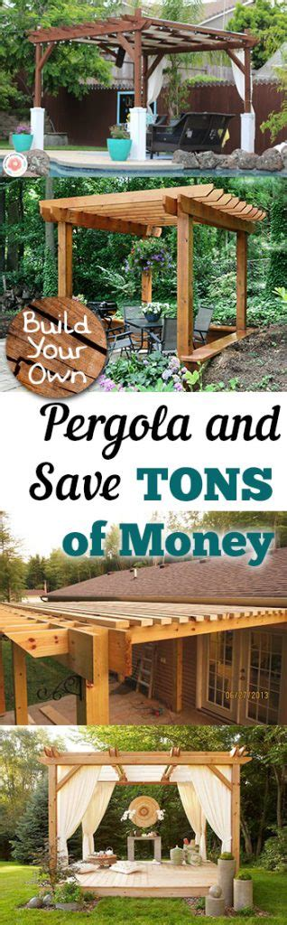 make your own pergola build your own pergola and save tons of money my list of