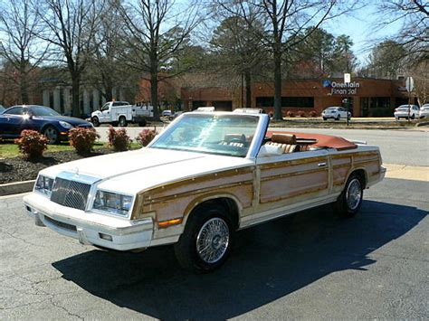 1984 Chrysler Lebaron by 1984 Chrysler Lebaron Town Country Convertible With