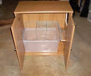 diy storage cabinet litter box petdiys