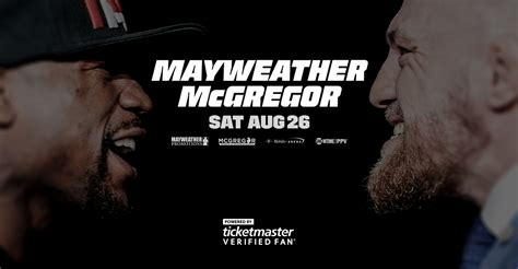 how do you become a ticketmaster verified fan mayweather vs mcgregor aug 26 las vegas verifiedfan