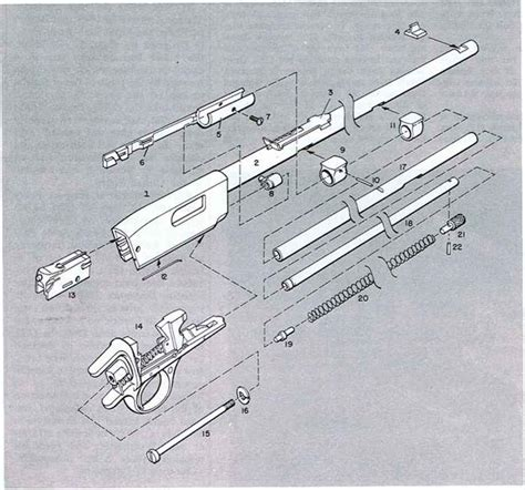 Winchester Model 12 Parts List Diagram Downloaddescargar Com