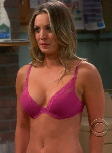 fat swinging tits kaley cuoco gif find share on giphy