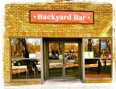 backyard comedy club backyard comedy club thursday night backyard bar