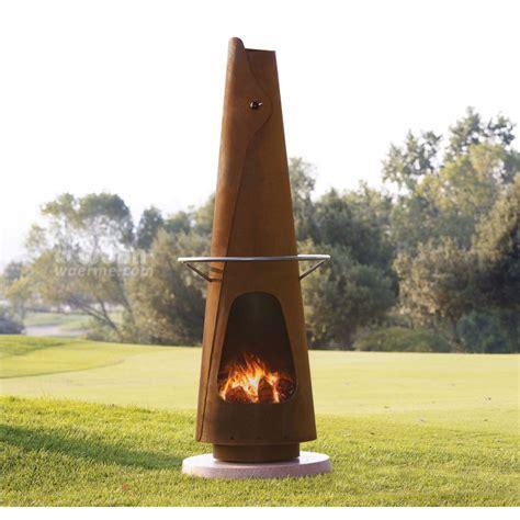 feuerstelle und grill fumotto feuerstelle und grillkamin f 252 r die terrasse