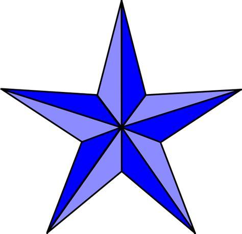 blue nautical star clip art at clker com vector clip art