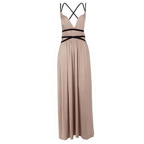 Dress Miso Stripe wedding guest maxi dress