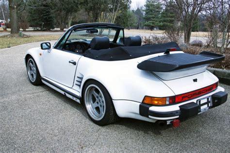 porsche 911 convertible white 1984 porsche 911 cabriolet convertible white 2