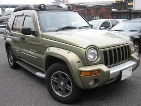 japanese jeep 2003 jeep cherokee kj37 renegade for sale japanese used