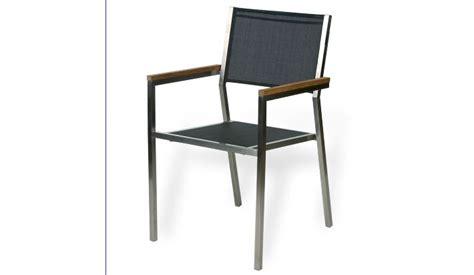 sillas de jard n silla de jard 237 n acero asiento y respaldo textilene