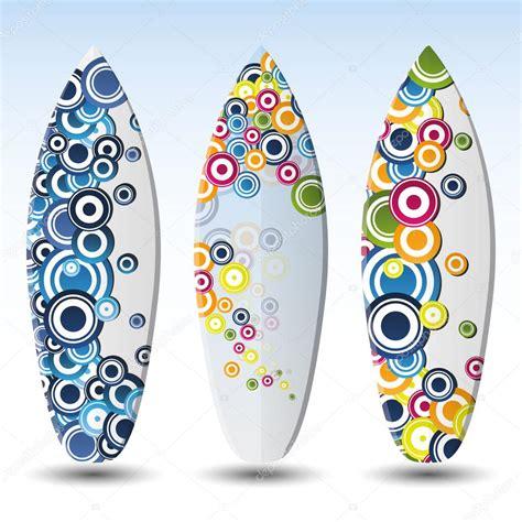 tavola da disegno digitale disegni di tavole da surf vettoriali vettoriali stock