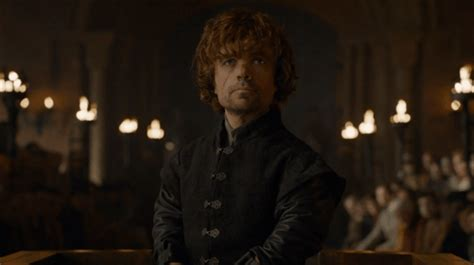 watch the game of thrones cast react to the purple reaction gif tagged with no peter dinklage game of thrones