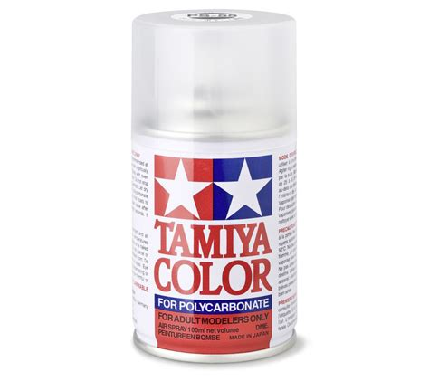 tamiya paint ps by plaskit net tamiya flat clear ps 55 polycarbonate spray paint