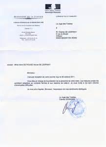 Exemple De Lettre Juge Des Tutelles Modele Attestation De Bonne Conduite Au Travail Document