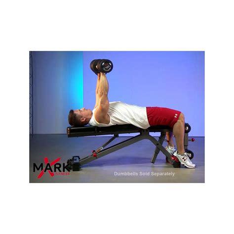 xmark ab bench xmark xm 7628 fid ab combo weight bench