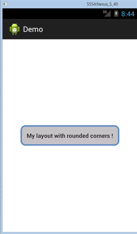 android layout corner radius how to create a layout with rounded corner borders in