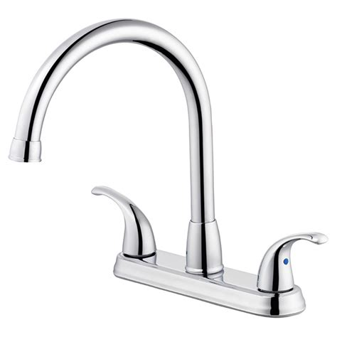 quot terra quot 2 handle kitchen faucet rona