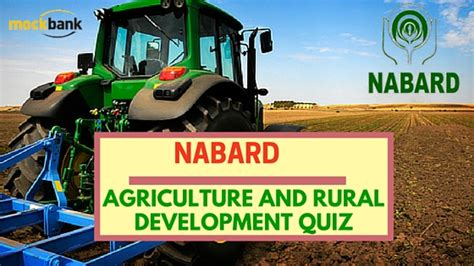 usda rual development nabard agriculture and rural development quiz 5 ibps sbi