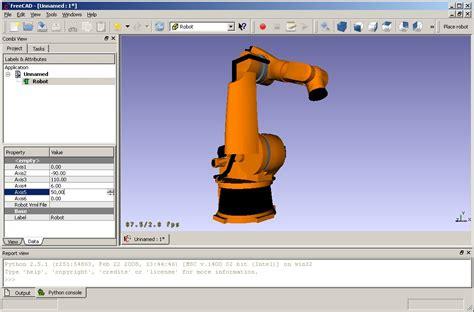robot project freecad documentation