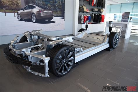 Tesla Chassis 2015 Tesla Model S P85d Review Performancedrive
