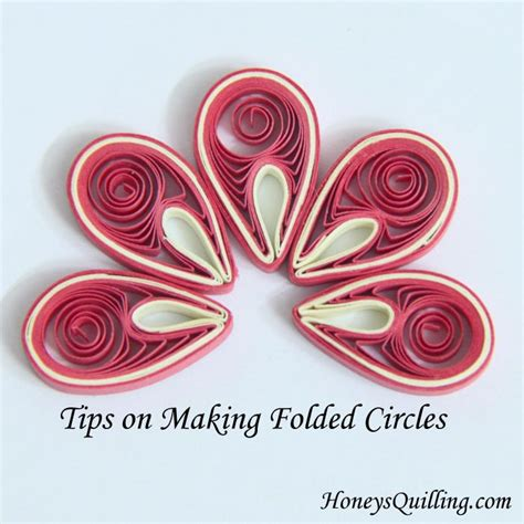 tutorial paper quilling untuk pemula tips on making paper quilled folded circles for malaysian