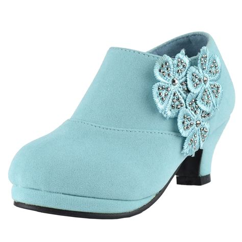 ankle boots floral rhinestone accent high heel